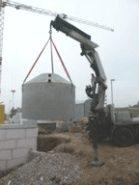 beton zisterne regenwassernutzung garten 6850 liter regenwassersystem ebay. Black Bedroom Furniture Sets. Home Design Ideas