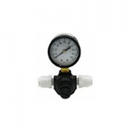 Manometer 0-10 bar mit Druckregler
