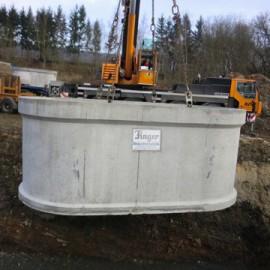 Finger Jumbo-Zisterne 19.000 Liter