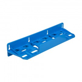 Kunststoff Dreifach-Montagerahmen blau