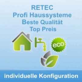 System zur Garten- und Hauswassernutzung