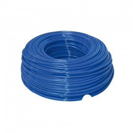 Schlauch blau 1/4' aus Polyethylen
