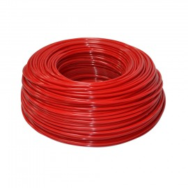 Schlauch rot 1/4' aus Polyethylen