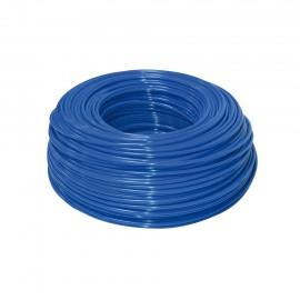 Schlauch blau 3/8' aus Polyethylen