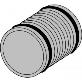 Futterrohr DN 110 länge 20 cm