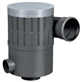 WISY Filter Aluminiumdeckel begehbar