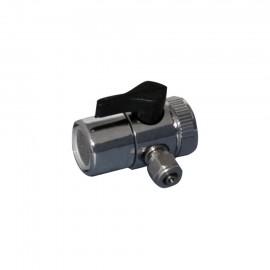 Wasserhahn Adapterstück m. Bypass-Ventil