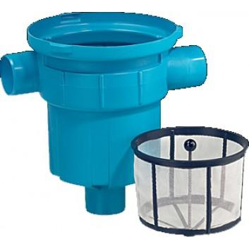 einfacher regenwasserfilter mit schmutzfangkorb fuer den einbau in den regenwasserspeicher. Black Bedroom Furniture Sets. Home Design Ideas