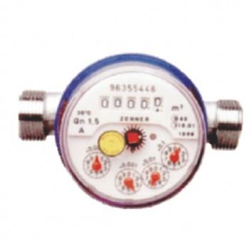 Wasserzähler QN 1,5 3/4 Zoll AG geeicht