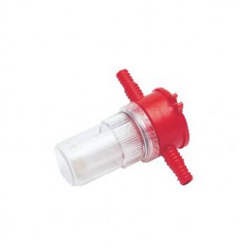 Wasserfilter 10/12mm mit Sichtglas