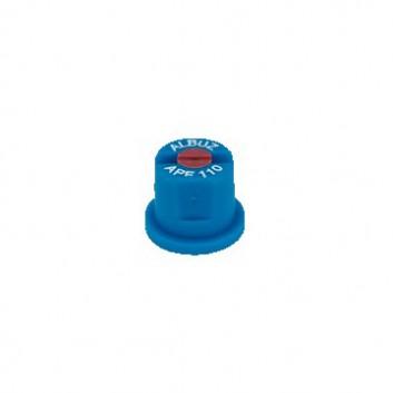 Keramik-Flachstrahldüse blau
