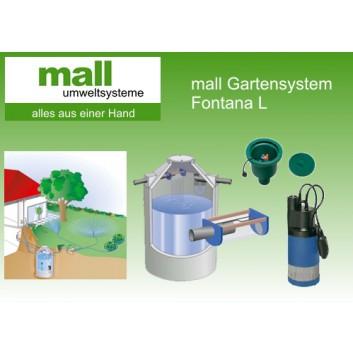 Mall-Garten-Paket Fontana S 7.000 L