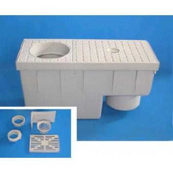 Sedimentations- und Filterkasten
